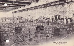 Saint Dizier,usine De St Dizier Le Moulage Mécanique(société  Des Fonderies De Bayard Et St Dizier Au Dos) 2 Trous Ronds - Saint Dizier