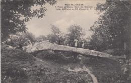 1930 Ca.-Montecenere Lama Mocogno Modena, Abitanti Sul Ponte D'Ercole, Viaggiata - Modena