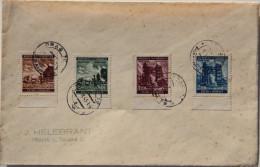 Cover 1941 Prager Messe, Kompleter Satz Mi 75 - 78 - Bohême & Moravie