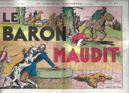 Les Aventuriers D´ Aujourd´ Hui Recit Complet N° 109 Le Baron Maudit - Livres, BD, Revues