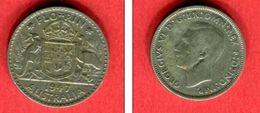 GEORGES VI  1947 TB+ 8 - Monnaie Pré-décimale (1910-1965)