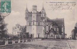 49 CHALAIN La POTHERIE  Jolie Vue  COUR MONPLAISIR Timbrée 1909 - Francia