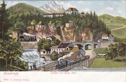 INNSBRUCK, Tirol, Austria, 1900-1910's; Sillfall Am Berg Isel - Innsbruck
