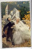 Jouet---Poupée ROLDAN--Mariés--cpsm 14 X 9 N° 1872 Glacée  éd Photochrom - Jeux Et Jouets