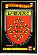 221 - LANGUEDOC - BLASON ADHESIF - France