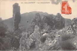 48 VILLEFORT LA CHANDELETTE - Villefort