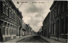 Poperinge  Yperstr Stoomtram Tram � Vapeur  '11 Place Berten villa Fernand   Ch�teau weg naar Reninghelst '02