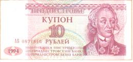 BILLETE TRANSNITRIA  10 KYNOH 1994 SC ( República Moldava  ) - Moldova
