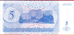BILLETE TRANSNITRIA  5 KYNOH 1994 SC ( República Moldava  ) - Moldova