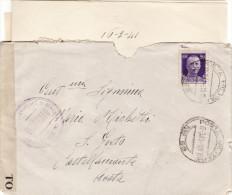 6^ SEZIONE SANITA'  FANTERIA - P.M. 69 /  CASTELLAMONTE  - CENSURA - Cover _ Lettera  17.3.1941(scritto All'interno) - 1900-44 Vittorio Emanuele III