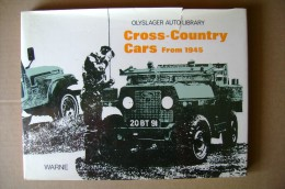 PCJ/48 CROSS-COUNTRY CARS From 1945 Frederick Warne & Co 1975 /mezzi Militari/Jeep - Motoren