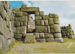 Cuzco (P�rou) - The Main Entrance to Sacsahuaman