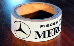 Rouleau d�adh�sif : Automobiles Mercedes Benz