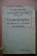 PCJ/66 B.Dumerqué COSMOGRAFIA Delagrave 1945/astronomia - Astronomia