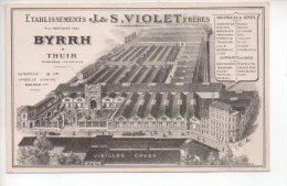 REF 201 CPA BYRRH à Thuir Etablissements J & S VIOLET Frères - Francia