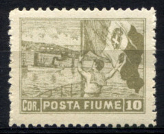 Fiume 1919 Sass.56 **/MNH VF/F - Fiume