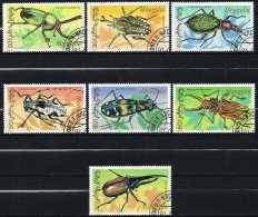 M117 FAUNA INSECTEN INSECTS KEVER BEETLE MONGOLIA 1991 Gebr / Used - Insectes