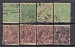 1918 - 20  VARIOS  SELLOS