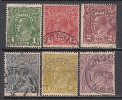 1923 - 24   YVERT  N� 36 / 41