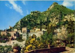 Taormina - veduta dal giardino pubblico - catania -7 - formato grande viaggiata