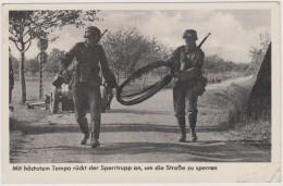 Deutsche Wehrmacht, Soldaten, Sperrtrupp, Pioniere,  Feldpost, Aschaffenburg, 1941, WWII - War 1939-45