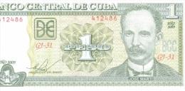 1 peso 2009 NEUF