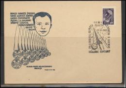 RUSSIA USSR Private Envelope LITHUANIA VILNIUS VNO-klub-021 Space Exploration Gagarin Anniversary - 1923-1991 USSR