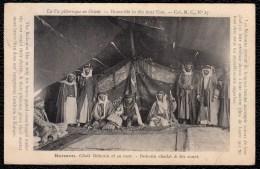 ASIE. LIBANON - ISRAEL - SYRIA . - CISJORDANIE ( Judea & Samaria ) . HERMON. Cheik Bédouin Et Sa Cour. - Israel