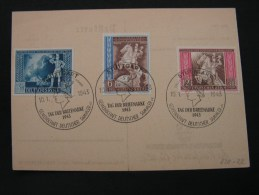 == DR Tag Der Briefmarke  SST - Storia Postale