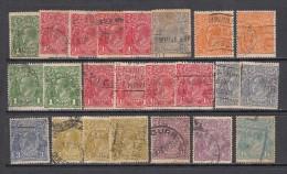 1923 - 28   VARIOS  SELLOS