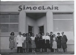 Photo ,personnel ,usine  SIMOCLAIR ,vetements De Sport à LYON - Places
