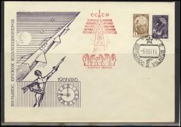 RUSSIA USSR Private Envelope LITHUANIA VILNIUS VNO-klub-026 Space Exploration VOSTOK-2 Titov - 1923-1991 USSR