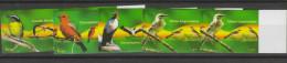 O) 2007 PERU, BIRDS, IMPERFORATE, SET MNH - Peru
