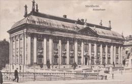 STOCKHOLM Riddarhuset Karte Gel.1920 Stockholm > Wien - Schweden