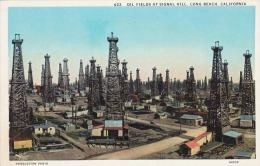 Ölfelder In LONG BEACH (California) - Oil Fields At Signal Hill, Huddleston Photo, Karte Um 1930 - Long Beach