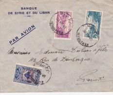 GRAND LIBAN  LETTRE AVEC TIMBRE SURTAXE POUR L'ARMEE - Covers & Documents