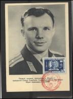 RUSSIA USSR Private Envelope LITHUANIA VILNIUS VNO-klub-033 Space Exploration Gagarin - 1923-1991 USSR