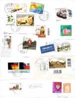 Konvolut Briefe/Briefstücke Mit Sondermarken Österreich+Deutschland Ab 2000 - Briefmarken
