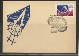 RUSSIA USSR Private Envelope LITHUANIA VILNIUS VNO-klub-042 Space Exploration Vostok-2 Anniversary - 1923-1991 USSR