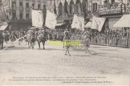 CPA ANTWERPEN VRIJMAKING DER SCHELDE 1863 1913 ANVERS AFFRANCHISSEMENT DE L'ESCAUT CLIMAN RUYSSERS - Antwerpen