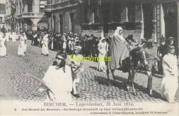 CPA BERCHEM LEGENDESTOET 28 JUNI 1914 CLIMAN RUYSSERS ANVERS ANTWERPEN - Autres