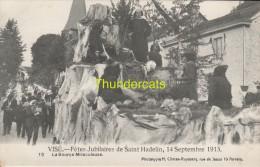 CPA VISE FETES JUBILAIRES DE SAINT HADELIN 14 SEPTEMBRE 1913 CLIMAN RUYSSERS ANVERS - Visé