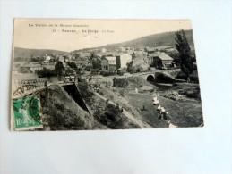 Carte Postale Ancienne : NOUZON : La Forge , Le Pont - Francia