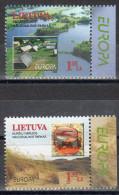Lituania 1999 / EUROPA / Set 2 Val - 1999