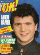 OK ! Age Tendre N° 523. Daniel BALAVOINE, Sylvester STALLONE, Audrey LANDERS - Musique