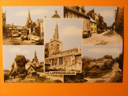 CPA Uppingham (Rutland / England / Angleterre) - Multivue - Differents Views ... - Rutland