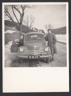 CAR - Original Photo, Renault, Year 1951 - Automobiles