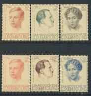 BL5-140 LUXEMBURG 1939 YV 324-329 20th ANNI CHARLOTTE. HINGED, CHARNIER, FALZ. - Ongebruikt