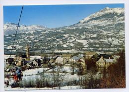SAINT LEGER LES MELEZES--1985--alt 1250m--Vue Générale (animée) Cpm éd Tardy - Autres Communes