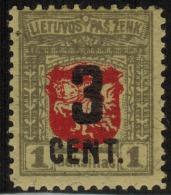 3418. Lithuania #120 1922 MLH OG